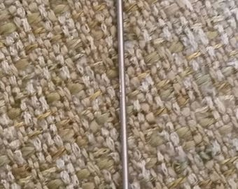 Lavender Clay Rose Lapel Pin