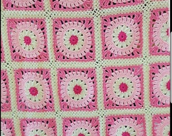 Crochet Throw for Single Bed