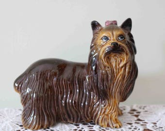 Lovely Coopercraft Yorkshire Terrier Yorkie Dog Figurine   Excellent condition
