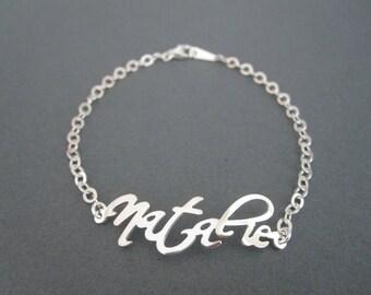 Personalized Name Bracelet - 4 Colors - Custom Name Bracelet - Name Jewelry - Baby Name -  Custom Name Gifts - Children Names Bracelet