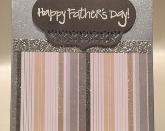 Happy Father's Day Card. Father's Day Card. Dad Card. Handmade Father's Day Card. Handmade Cards