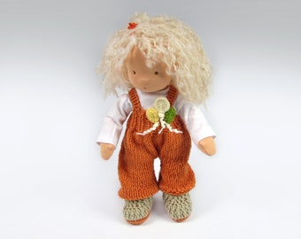 """Waldorf Doll with Balloons 