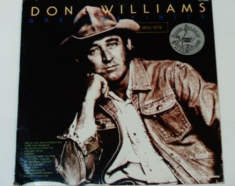 "Don Williams Greatest Hits - ""She's In Love With a Rodeo Man"" - ""The Ties That Bind"" - MCA 1975 Re-Issue - Country Vinyl LP Record Album"