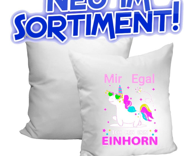 Unicorn Unicorn Pillow Gift Birthday