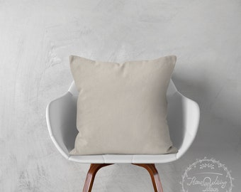 pure raw linen cushion cover natural linen pillow cover throw pillow cover decorative pillow pillow case home decor accent pillow