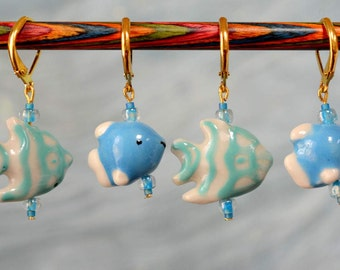 AS SEEN IN Interweave Crochet, Sumer 2016: Under the Sea Crochet Stitch Markers