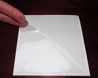 Clear Adhesive Corner Pockets