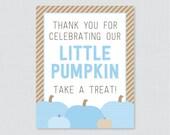 Blue Little Pumpkin Baby ...