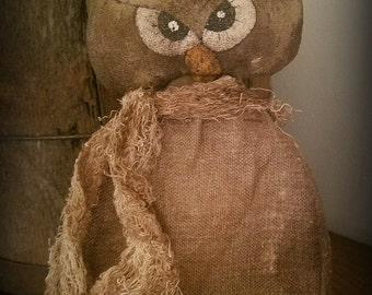 Mrs. Hoot Owl E-Pattern