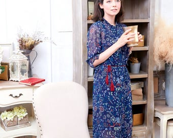 Hot & Restock - Woman Dress - Floral Tunic Dress (woman)