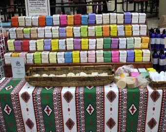 Handmade Goat Milk Soap Favorites, 6 bars, Milk 'n Honey, Pear 'N Redwood, Citrus, Neroli, Lavender Lemon, Lemon Verbena, Free US Shipping