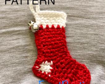 Jingle Stocking Ornament Pattern