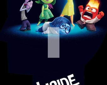 Inside Out Single Light Switch Plate Cover