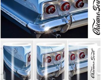 Blue '63 Impala Tail