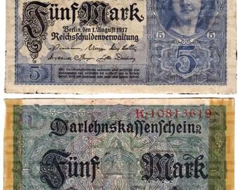 German Mark / Currency Money Bill / 11 x 14 / Antique Digital Paper / Collage Ephemera / Scrapbooking Supply / Instant Download