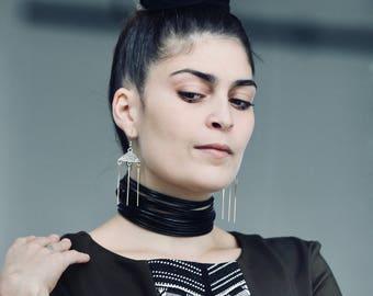 Earrings silver Maubin.