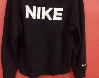 Vintage Nike sweatshirt hip hop swag big logo size large