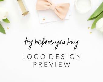 Logo Preview - Try Before You Buy - Pre-made logo designs