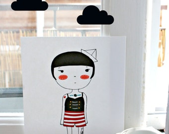 Little Sailor Print - La Marinerita-