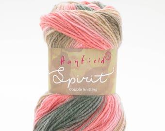 Hayfield Spirit DK Yarn 100g