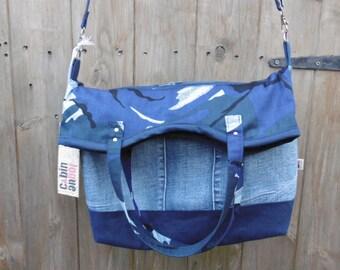 cross shoulder tote bag