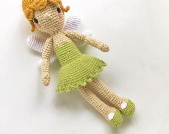 TINKERBELL, Crochet Pattern/Amigurumi