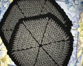 Grey Trivet / Pot Holder Set