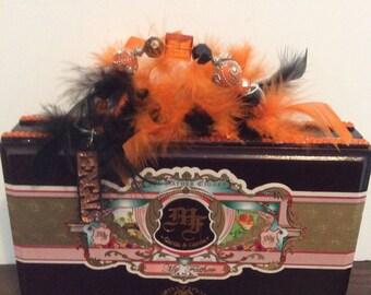 Cincinnati Bengals Cigar box purse