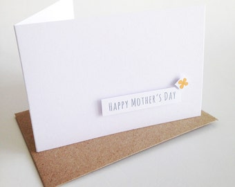 Happy Mother's Day Card, Hand-made Card