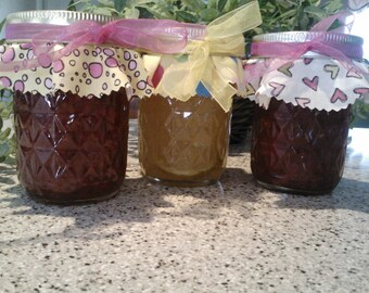 Mother's Day Spring Jam Gift Pack /Summer Jam Birthday Gift // ANY 3 / Jam -Marmalade-Jelly