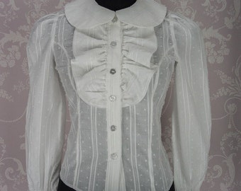 Blouse made to measure in sizes UK 6 - 22