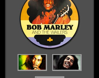 Bob Marley - Picture Disc LP Album Custom Framed