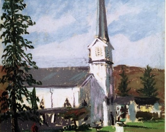 Prints and Cards - Church, Long Valley, New Jersey