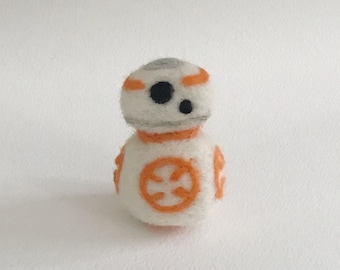 Needle Felted Star Wars BB8
