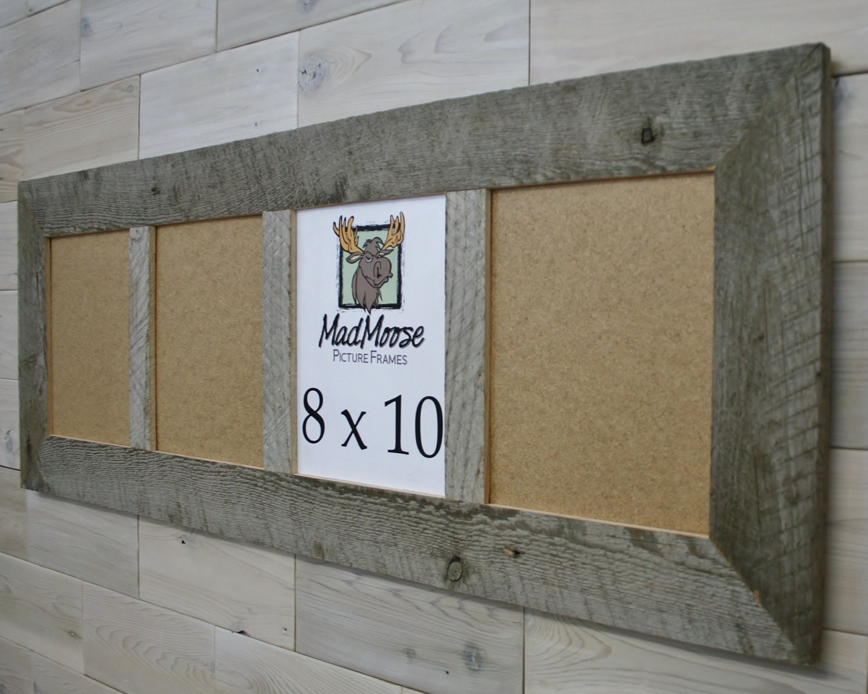4 Pane 8x10 Barn Wood [Thin x 3\