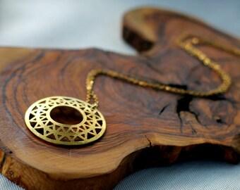 Elegant Necklaces for Women, Boho necklace women, Gold karma necklace, Gold Eternity necklace gold protection necklace women Gold