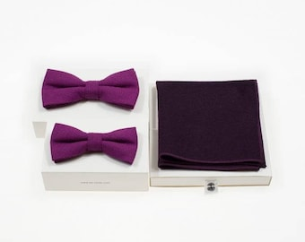 de MORÉ - Fuchsia father and son set