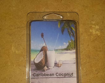 Caribbean coconut wax melt