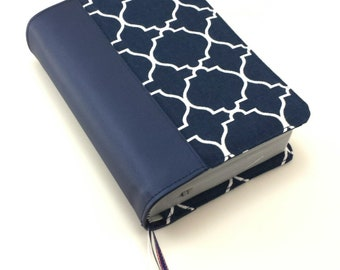 New World Translation Bible cover with contact card and invitation pockets