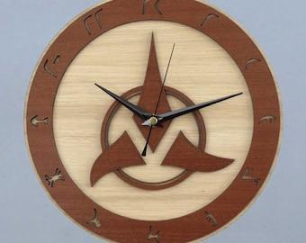Star Trek Clock / Klingon Clock