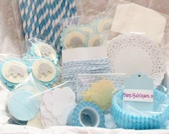 Boy Baby Shower, Birthday, Elephant, Party Decorations, Party Pack