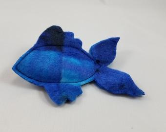 Catnip Fish - Geometric Blue