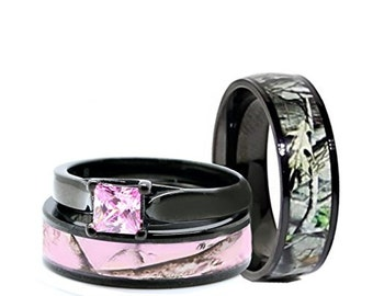 Camo wedding ring Etsy