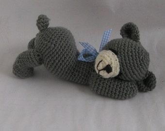 "sleepy bear ""Willi"" crochet pattern"