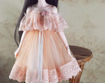 BJD doll slim MSD Minifee clothes sweet lace dress