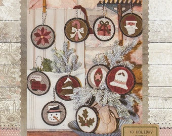 Holiday Penny Ornaments by Buttermilk Basin
