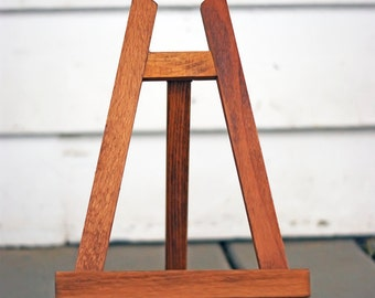 Easel - Chalkboard Easel - Picture Easel - Wooden Easel - Wood Easel - Table Top Easel - Chalkboard Stand, Picture Stand - Wood Stand