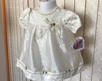 Rose Cottage Victorian Style Baby Dress, 6-9 mos.  tag still on