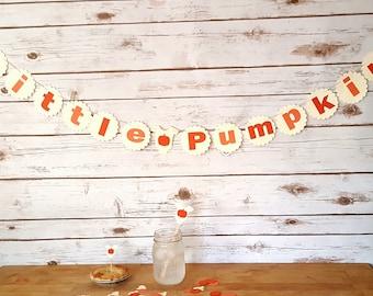 Little Pumpkin Fall Baby Shower Party Kit
