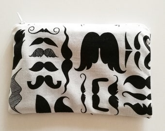 Theme clutches with moustache (mustache)